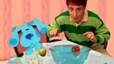 Blue's Clues - 02x04 What Experiment Does Blue Want To Try?