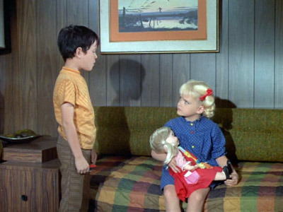 The Brady Bunch - 01x07 Kitty-Karry-All is Missing