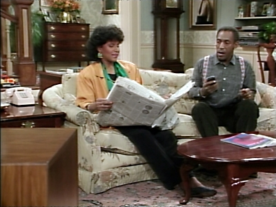 The Cosby Show - 03x08 Vanessa's Rich