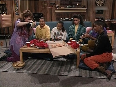 The Cosby Show - 06x03 I'm 'In' With the 'In' Crowd