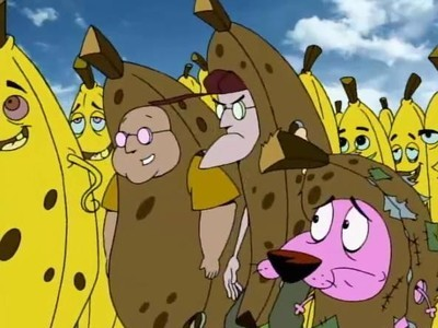 Courage the Cowardly Dog - 02x03 Family Business / 1000 Years of Courage