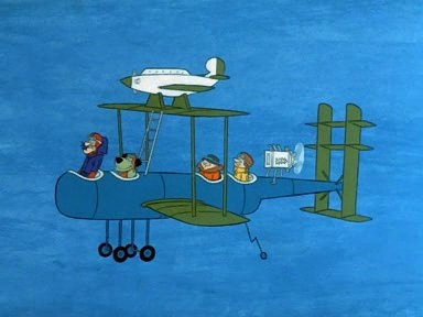 Dastardly and Muttley in Their Flying Machines - 01x34 Plane Talk Screenshot