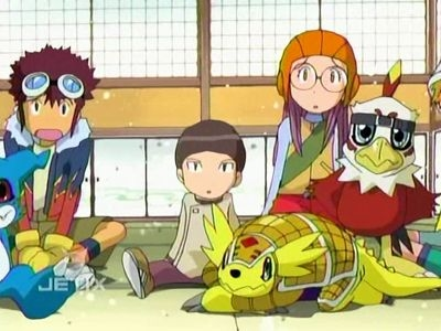 Digimon: Digital Monsters - 02x15 Big Trouble in Little Edo