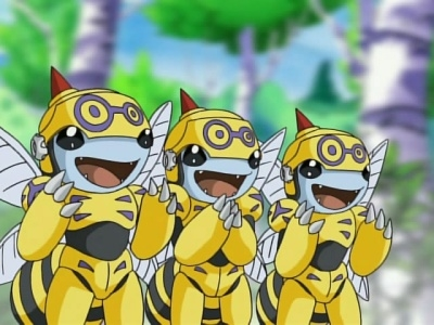 Digimon: Digital Monsters - 04x26 Zoe's Unbeelievable Adventure