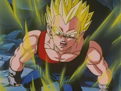 Dragon Ball GT (Dubbed) - 02x12 The Attack on Vegeta