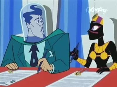 Duck Dodgers - 02x12 Of Course You Know This Means War and Peace (1)