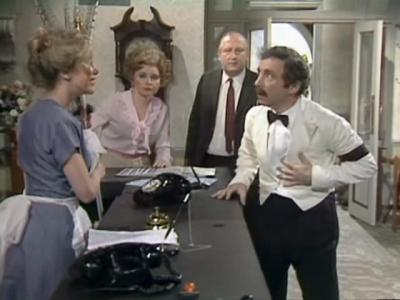 Fawlty Towers (UK) - 02x06 Basil the Rat (a.k.a. Rats) Screenshot