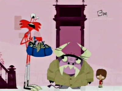 Foster's Home for Imaginary Friends - 03x06 Foster's Goes to Europe