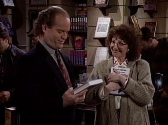 Frasier - 02x15 You Scratch My Book...