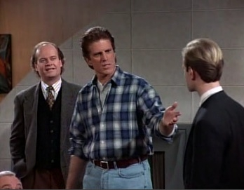 Frasier - 02x16 The Show Where Sam Shows Up