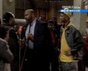 The Fresh Prince of Bel-Air - 01x22 Banks Shot