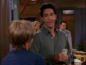 Friends - 05x19 The One Where Ross Can't Flirt
