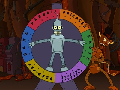 Futurama - 01x09 Hell Is Other Robots