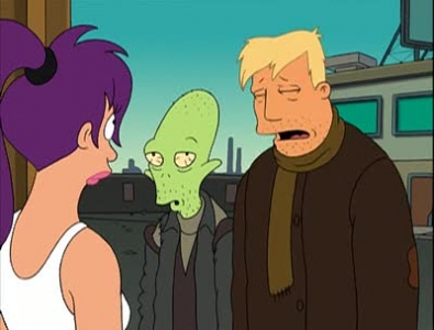 Futurama - 02x02 Brannigan Begin Again