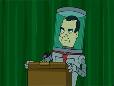 Futurama - 02x03 A Head in the Polls