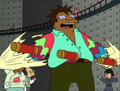 Futurama - 02x11 How Hermes Requisitioned His Groove Back