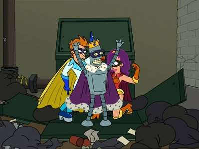 Futurama - 04x04 Less Than Hero