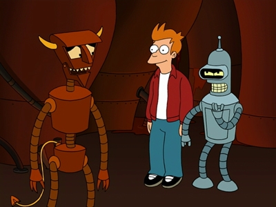 Futurama - 04x18 The Devil's Hands Are Idle Playthings