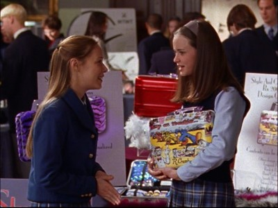 Gilmore Girls - 02x18 Back in the Saddle Again