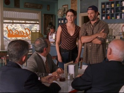 Gilmore Girls - 04x02 The Lorelais' First Day at Yale
