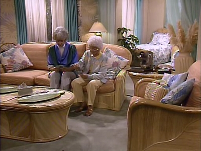 The Golden Girls - 04x16 Two Rode Together