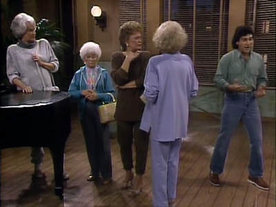 The Golden Girls - 04x18 Fiddler on the Ropes