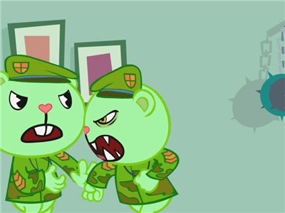 Happy Tree Friends - 01x39 Autopsy Turvy (Double Whammy Part II) Screenshot