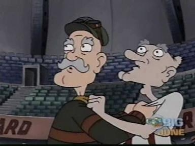 Hey Arnold! - 05x24 Grandpa's Packard / Phoebe's Little Problem Screenshot