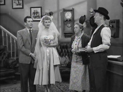 When Lucy Discovers That Ricky S Name Is Misspelled On Their Marriage License She Believes They Re Not Legally Married And Insists Get