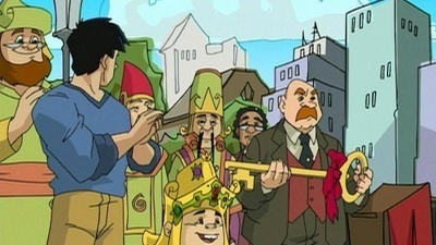 Jackie chan adventures 2x24 the king and jade sharetv for Jackie chan adventures jade tattoo