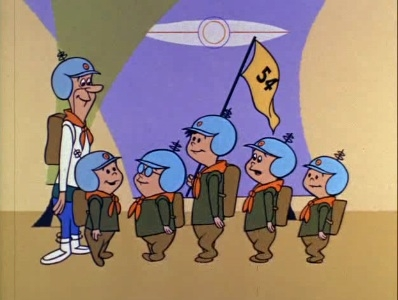 The Jetsons - 01x06 The Good Little Scouts