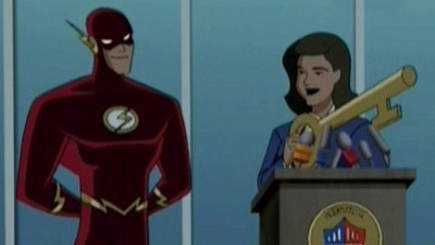 Justice League Unlimited 5x05 Flash and Substance - ShareTV
