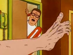 King Of The Hill 2x11 The Unbearable Blindness Of Laying Sharetv