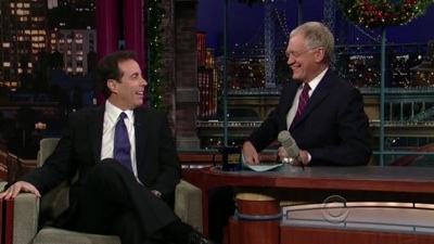 Late Show with David Letterman - 16x63 Jerry Seinfeld, Leona Lewis