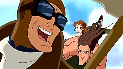 The Legend of Tarzan - 02x03 Tarzan and the Flying Ace Screenshot