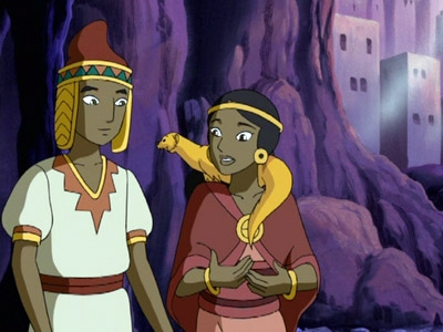 The Mummy: The Animated Series - 01x08 The Cloud People