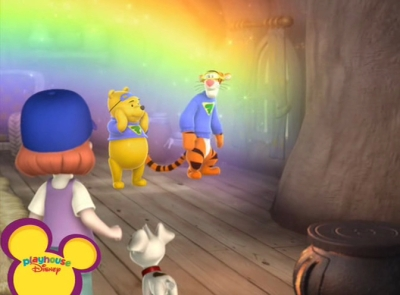 My Friends Tigger & Pooh - 01x14 Chasing Pooh's Rainbow / Lumpy Mixes a Mystery Screenshot