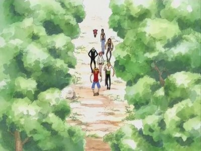 One Piece  - 08x06 Zenny Lives on Goat Island and There's a Pirate Ship on His Mountain
