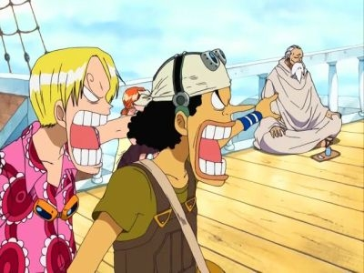 One Piece  - 09x25 The Python Strikes! The Survival Game Begins