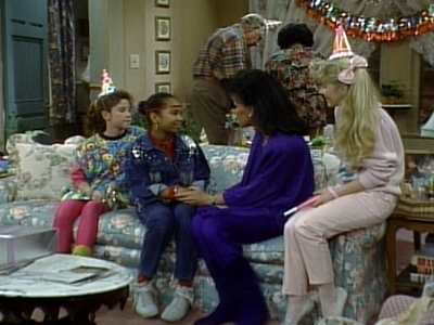Punky Brewster - 04x11 Aunt Larnese Is Coming to Town