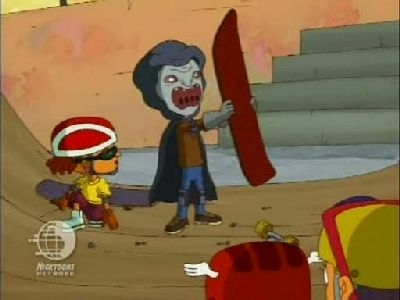 rocket power 2x01 rocket repairs say hello to cement