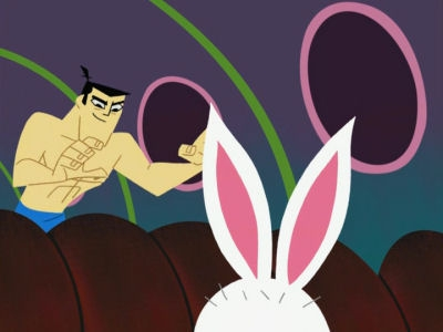 Samurai Jack Is Naked 81