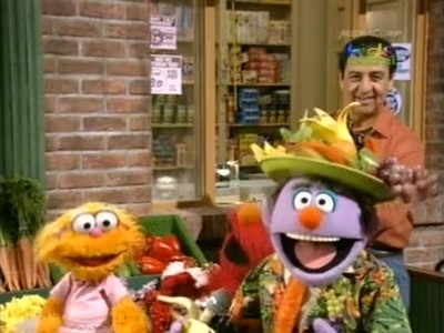 The healthy food game sesame street