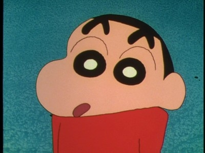 Shin Chan  - 01x05 Watching a movie / A good child's present / Helping Out