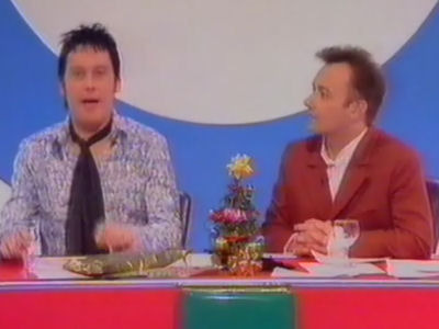 Shooting Stars (UK) - 01x09 Clive Mantle, Anna Friel, Neil Morrissey, Alvin Stardust (Xmas 1995 Special)
