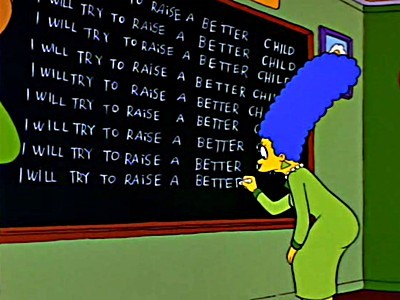 The Simpsons - 04x06 Itchy & Scratchy: The Movie
