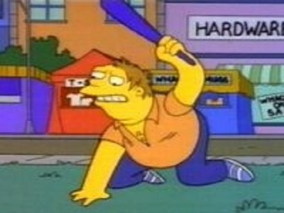 The Simpsons - 04x20 Whacking Day
