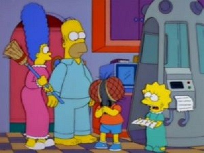 The Simpsons - 09x04 Treehouse of Horror VIII
