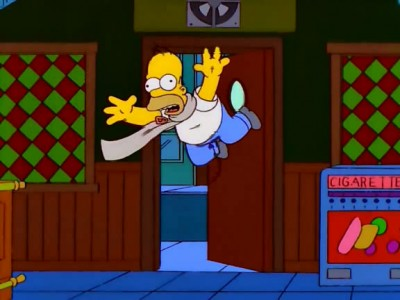 The Simpsons - 10x13 Homer to the Max
