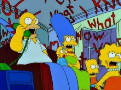The Simpsons - 11x04 Treehouse of Horror X